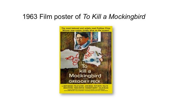 1963 film poster of TKAM