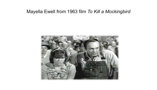 Mayella Ewell from 1963 film of TKAM