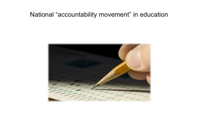 national %22accountability movement%22 in education
