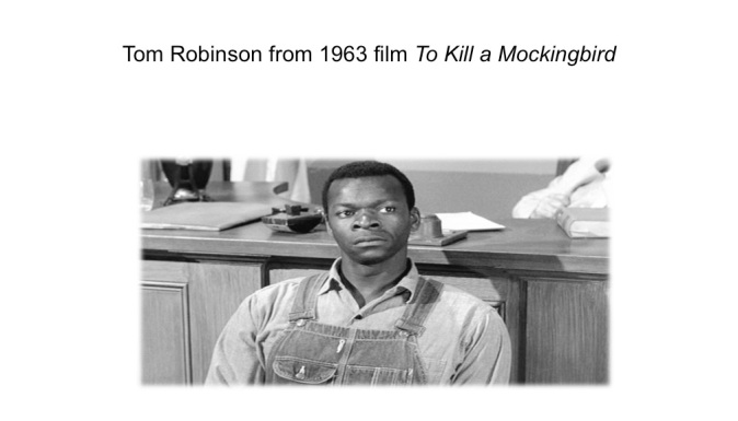 Tom Robinson for 1963 film of TKAM
